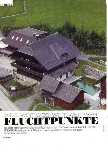 FLUCHTPUNKTE - Art Lodge