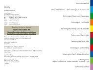 Inhaltsverzeichnis - Reise-Idee Verlag