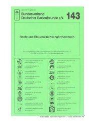 Präsident:Ingo Kleist - Bundesverband Deutscher Gartenfreunde e. V.
