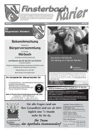 Ausgabe Mai 2011 - Althegnenberg