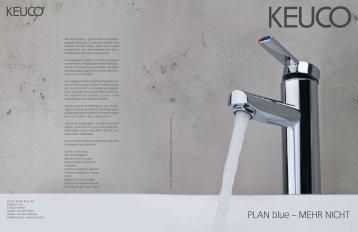 PLAN blue – mehr Nicht - KEUCO