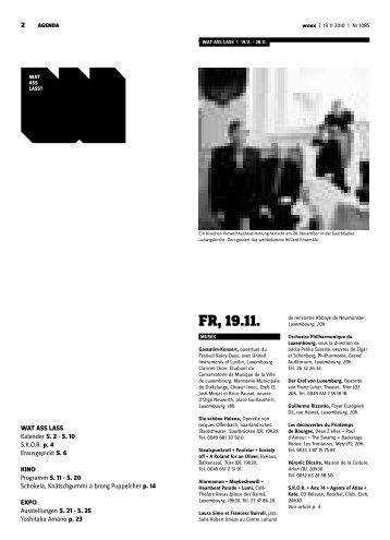 Fr, 19.11. - woxx