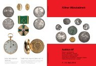 Katalog Auktion 97 - Tyll Kroha - Kölner Münzkabinett