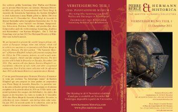 ca fühlt sich geehrt, in Zusammenarbeit mit Pierre Berge - Hermann ...