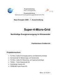 Super-4-Micro-Grid - Institut für Energiesysteme und elektrische ...