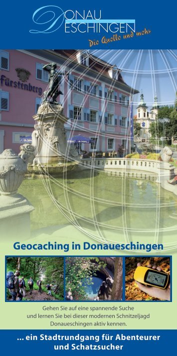 Geocaching in Donaueschingen - Naturpark Südschwarzwald