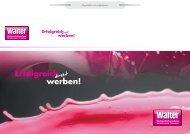 Druckversion - Walter Werbung