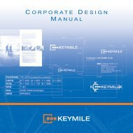 KEYMILE Corporate Design Manual