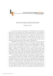 Margherita Cottone In un recente volume il metereologo Luca ...