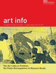 Von der Liebe zu Punkten: Die Polke-Retrospektive im ... - art info