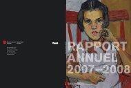 Rapport annuel 2007-2008 - Musée des beaux-arts du Canada