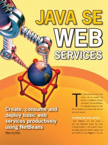 Java SE Web Services - NetBeans