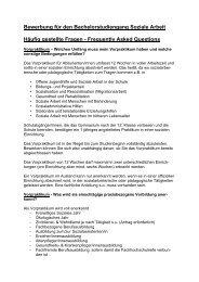 Fragen und Antworten zum Bachelor-Studiengang - Katholische ...