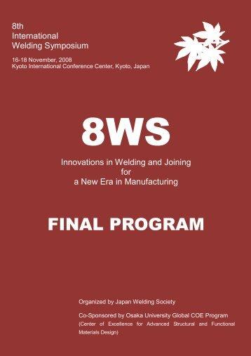 8ws - Final Program