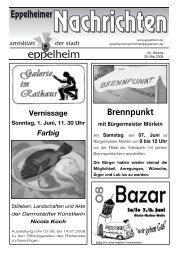 22. Woche - Eppelheim