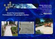 Terrassenplatten - STONE WORLD Jura Kalk Natursteinshop