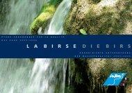 LA BIRSE / DIE BIRS - Koordinierte Untersuchung der ... - Kanton Bern