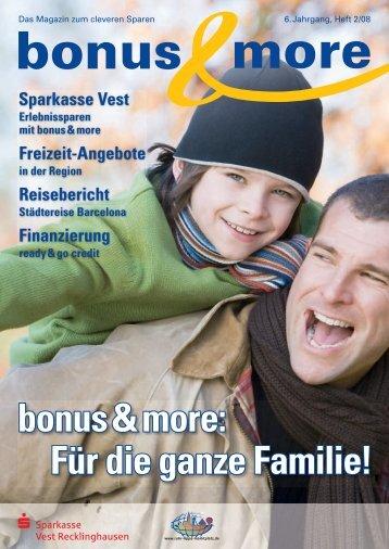 bonus & more - Sparkasse Vest Recklinghausen