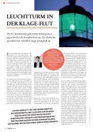 Leuchtturm in der KLage-FLut - Baker & McKenzie