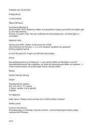 Protokoll zur Sitzung am 16.10.2012 - StuRa Universität Leipzig