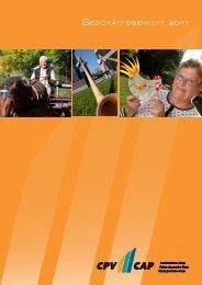Geschäftsbericht 2011 - CPV/CAP Pensionskasse Coop