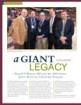 RUSSELL F. WARREN, MD, AND THE HSS GIANTS SPORTS ... - Page 6