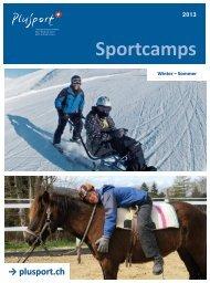 Sportcamps 2013 - PLUSPORT Behindertensport Schweiz