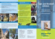 klassischen Führungsprogramm - Stadt Bendorf