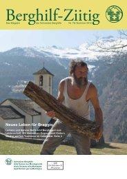 Download Berghilf-Ziitig Sommer 2012 - Schweizer Berghilfe