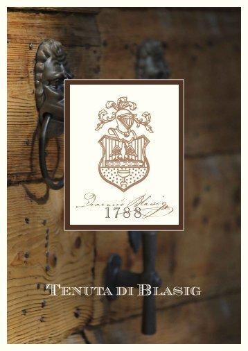Merlot 2005, Isonzo del Friuli - Tenuta di Blasig
