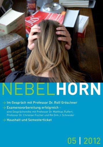 Nebelhorn Mai 2012 - Friedrich-Schiller-Universität Jena