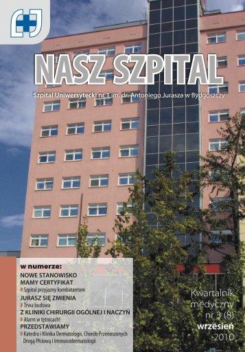 Jurasz BIULETYN - 2 - Szpital Uniwersytecki nr 1 im. A. Jurasza w ...