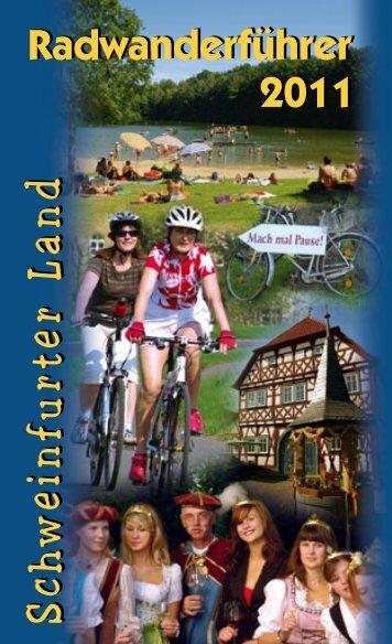 Radwanderführer - Schweinfurt 360 Grad