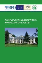 Parengtas leidinys (pdf) - Botanikos institutas