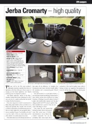 Cromarty Review - December 2012 - Jerba Campervans