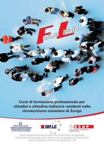Corsi di formazione professionale per cittadini e cittadine ... - ECAP
