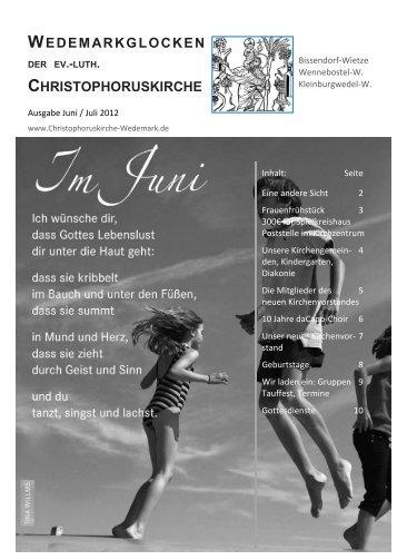 Juni / Juli 2012 - Bissendorf-Wietze, Christophorus
