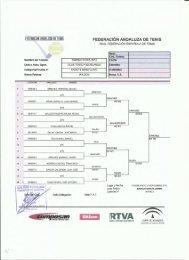 cuadros e informes torneo de feria 2012 - Federación Andaluza de ...