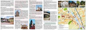 Info-Faltblatt Rundgang durch Gernsbachs Altstadt - Stadt Gernsbach