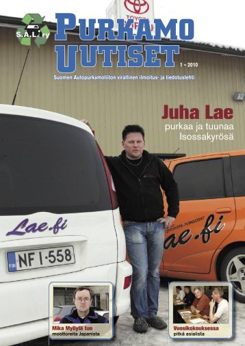 Juha Lae - Suomen Autopurkamoliitto