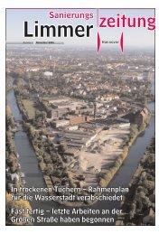 Sanierungszeitung Limmer Nr. 4 - Linden entdecken...