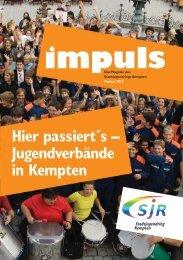 Hier passiert´s – Jugendverbände in Kempten - Stadtjugendring ...