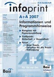 A+A 2007 - Bundesarbeitsgemeinschaft für Sicherheit und ...