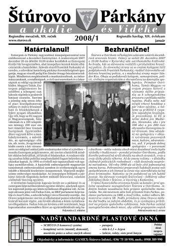 január - Mesto Štúrovo