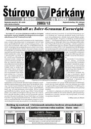 december - Mesto Štúrovo