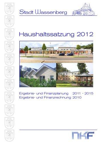 finden Sie den Entwurf der Haushaltssatzung 2012 - SPD Wassenberg