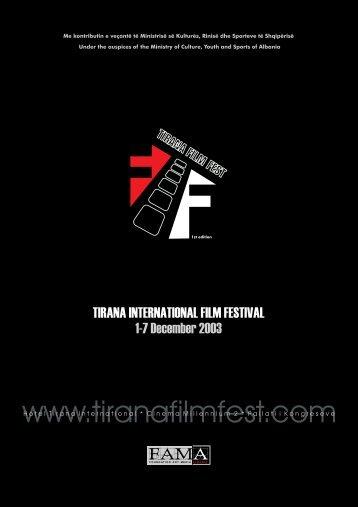 Greetings   Përshendetje - Tirana Film Festival