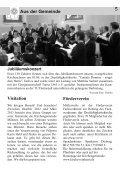 Gemeindebrief Sommer 2012 - Evangelische Kirche Reinheim - Page 5