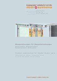 Systemlösungen für Doppelstockwagen System approaches for  ...