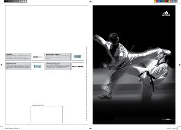 adidas Taekwondo Katalog Download (19MB)